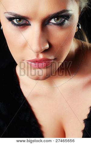 Beautiful face.