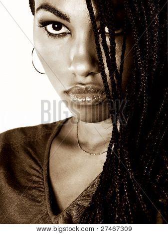 Beautiful Portrait of a lovely Nigerian Girl