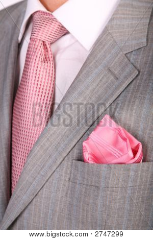Wraps Suit Necktie