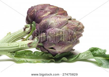 two artichoke
