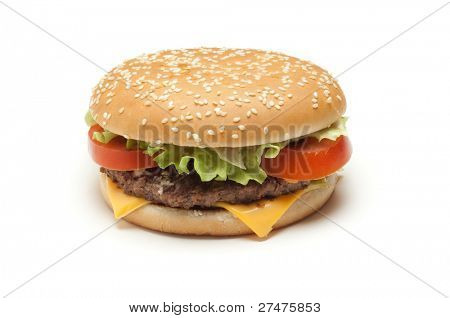 hamburger isolated