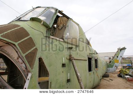 Viet Nam Era Helicopter