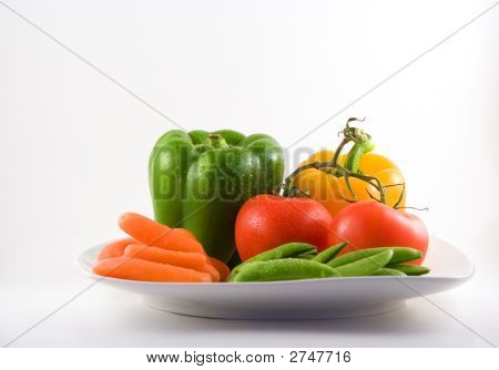 Veggies On A Plate