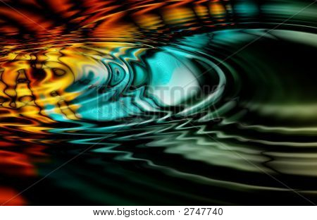 Oil Slick Ripples