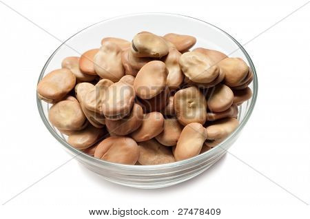 bowl of broad bean