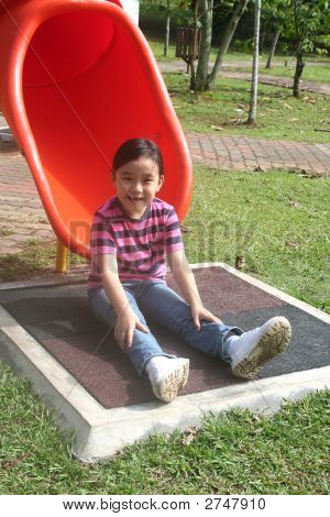 Girl At The Park