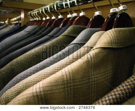 Men'S Clothing On Rack