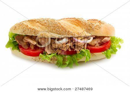 sandwich de atún