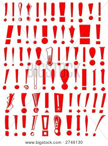 Exclamation Mark Collection