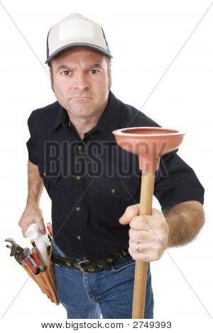 Plumber Strong & Tough