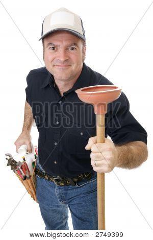 Plunger Man