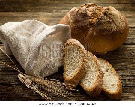 Mehl und Brot Ohr