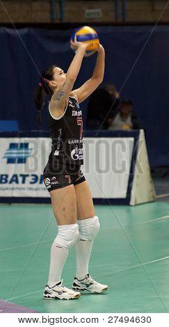 Volleyball Player Svetlana Kryuchkova