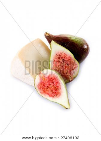 italian cheese with figs, traditional italian dessert