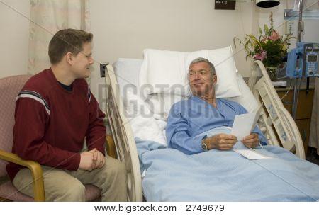 Krankenhaus-Visitation