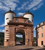Old Bridge Gate, Heidelberg, Germany