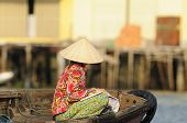 Woman In Vietnam