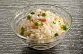 pic of roast chicken  - rice bowl - JPG
