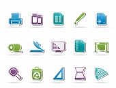 stock photo of guillotine  - Commercial print icons  - JPG