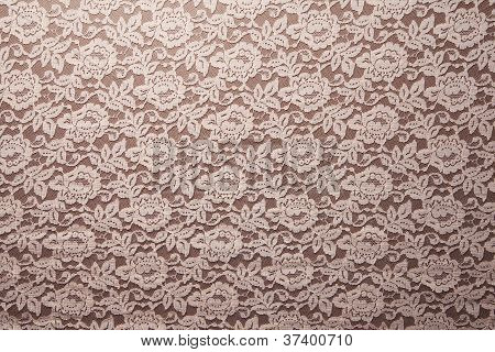 Peach Lace Background