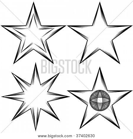An image of a flourish star set.