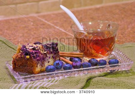 Blueberry Coffee Cake Horizontal