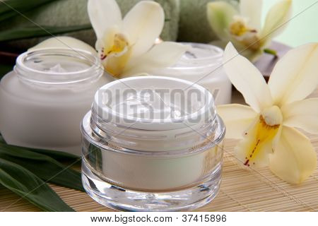 Orchid And Face Cream
