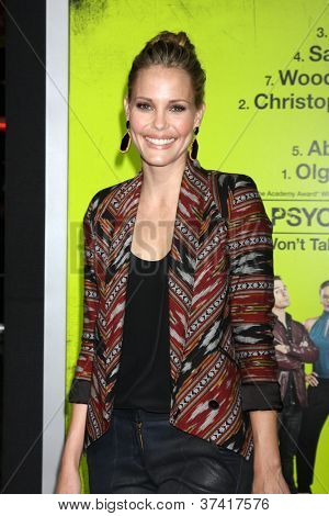 "LOS ANGELES - OCT 30:  Leslie Bibb  at the ""Seven Psychopaths"" Premiere at Bruin Theater on October 30, 2012 in Westwood, CA"