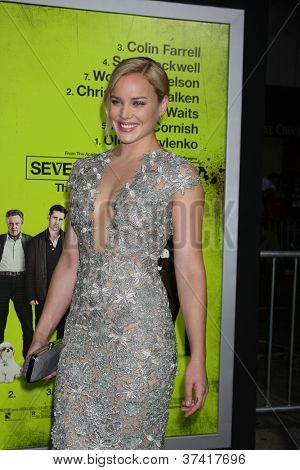 LOS ANGELES - OCT 30:  Abbie Cornish  at the