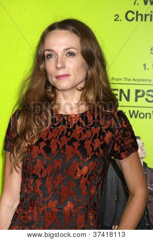 "LOS ANGELES - OCT 30:  Kerry Condon  at the ""Seven Psychopaths"" Premiere at Bruin Theater on October 30, 2012 in Westwood, CA"