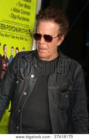 LOS ANGELES - OCT 30:  Tom Waits  at the