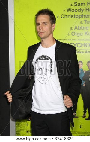 LOS ANGELES - OCT 30:  Sam Rockwell  at the