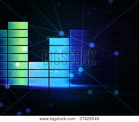 Net Abstract Background