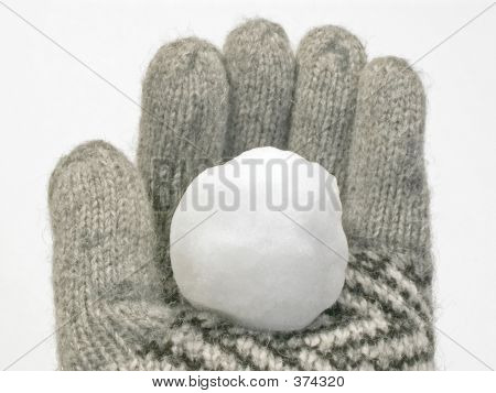 Snowball In Glove