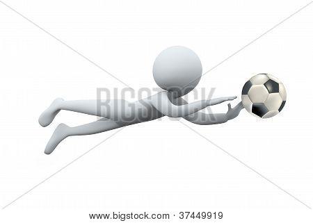 3D Man Dive