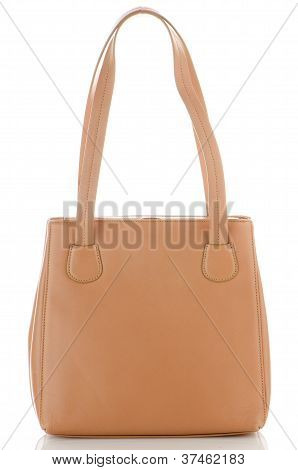 Womanish Brown Leather Bag