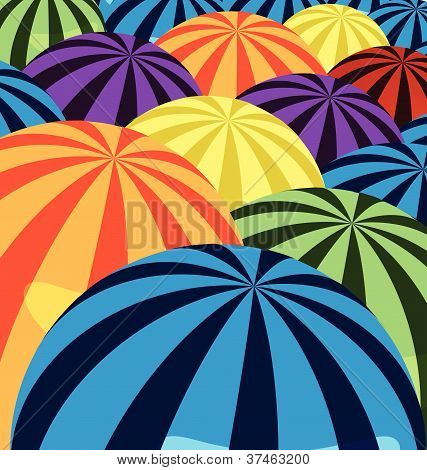 Colorful Striped Background