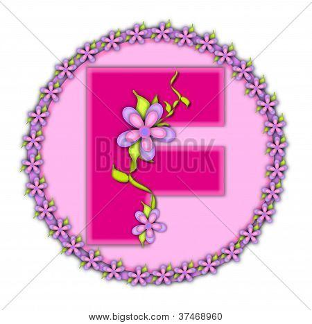 Alphabet Daisy Chain F