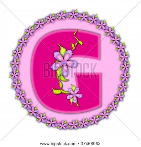 Alphabet Daisy Chain G