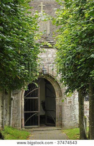 Porch to Penallt Old Church