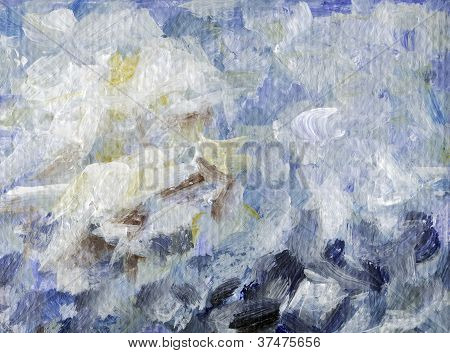 Abstract background, painting