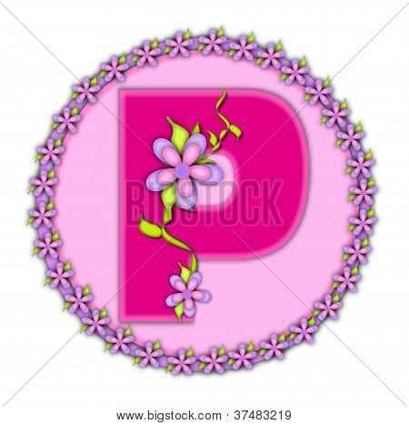 Alphabet Daisy Chain P