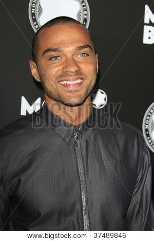 LOS ANGELES - OCT 2:  Jesse Williams arrives at the 2012 Montblanc De La Culture Arts Gala at Chateau Marmont on October 2, 2012 in Los Angeles, CA