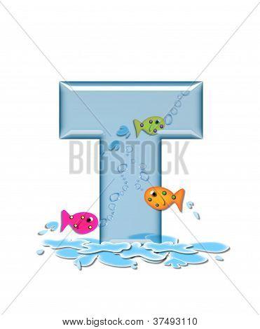 Alphabet Fish Flop T