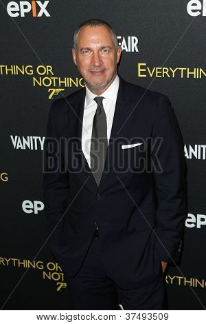 NEW YORK-OCT 3: Vanity Fair publisher Edward Menicheschi attends 'Everything Or Nothing: The Untold Story Of 007' premiere at the Museum of Modern Art on October 3, 2012 in New York City
