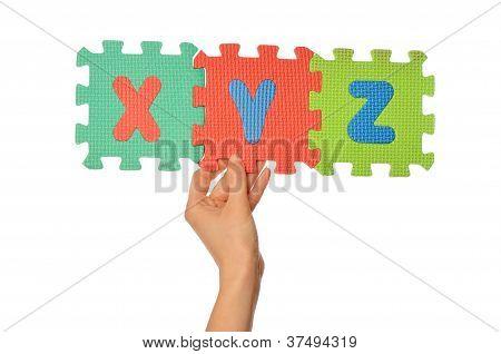 alphabet xyz