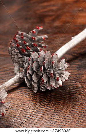 Ornamental Fir Cone