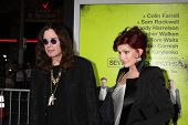 LOS ANGELES - OCT 30:  Ozzy Osbourne, Sharon Osbourne  at the