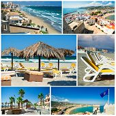 stock photo of costa blanca  - Touristic places of Spain - JPG