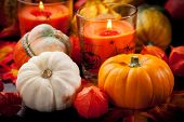 image of cornucopia  - Happy Halloween  - JPG